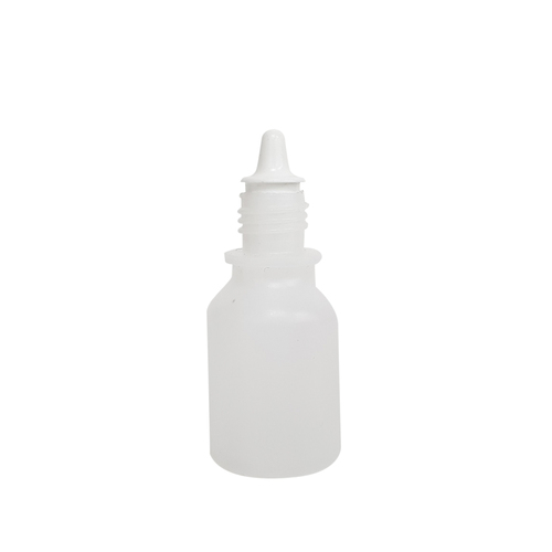 Empty Clear Plastic Dropper Squeezable Bottle 15ml (0.5oz)