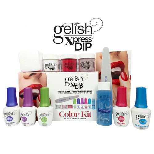 Gelish Xpress Dip Powder SNS Color Kit - New Package