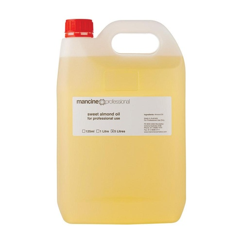 Mancine - Sweet Almond Oil for Professional Use - 5L