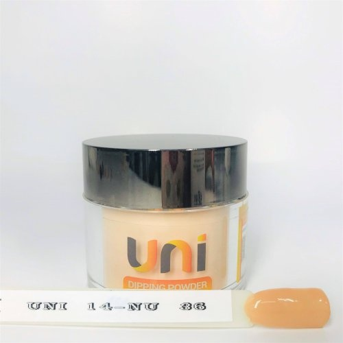 UNI 014 - Beige Babe - 56g Dipping Powder Nail System Color